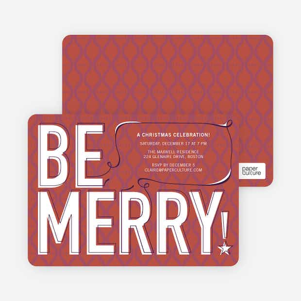 Be Merry! - Main