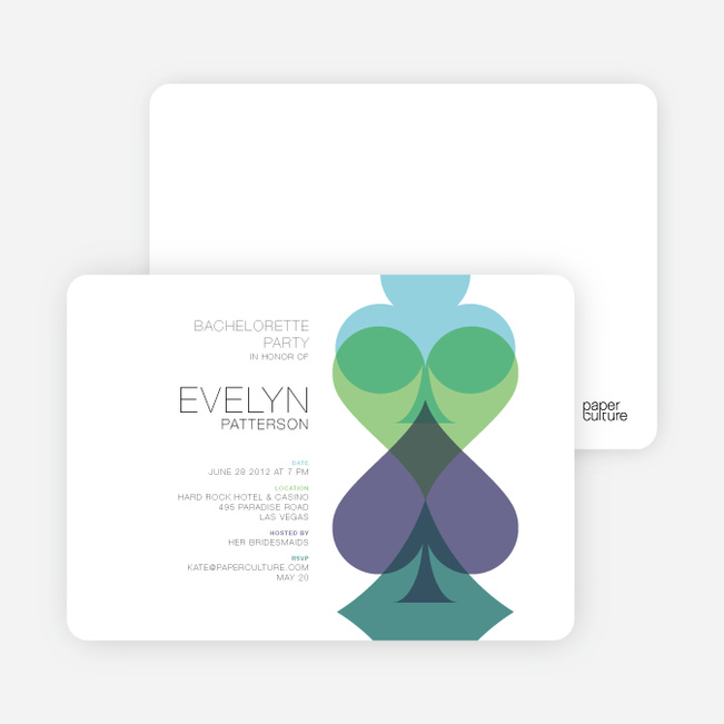 Casino Invitations Paper Culture