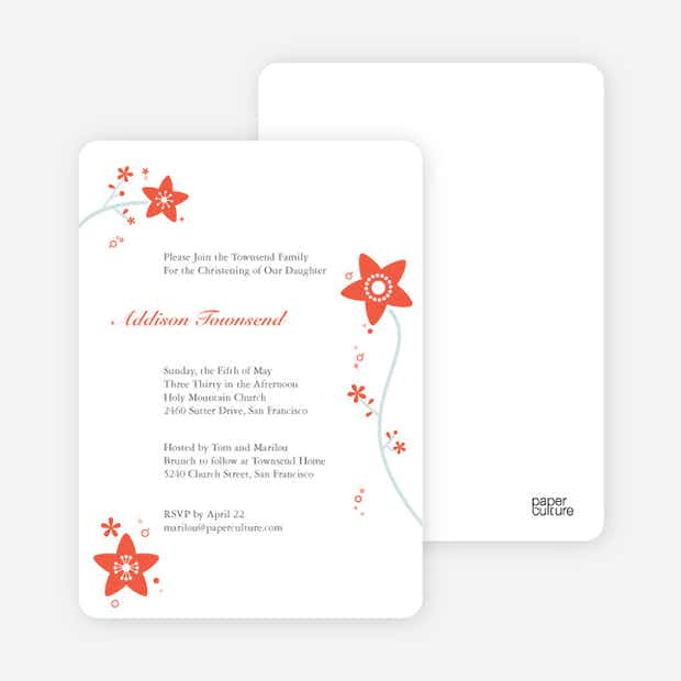 Floral Invitation - Main