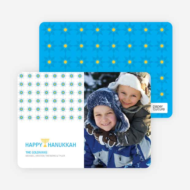 Happy Hanukkah Card - Main