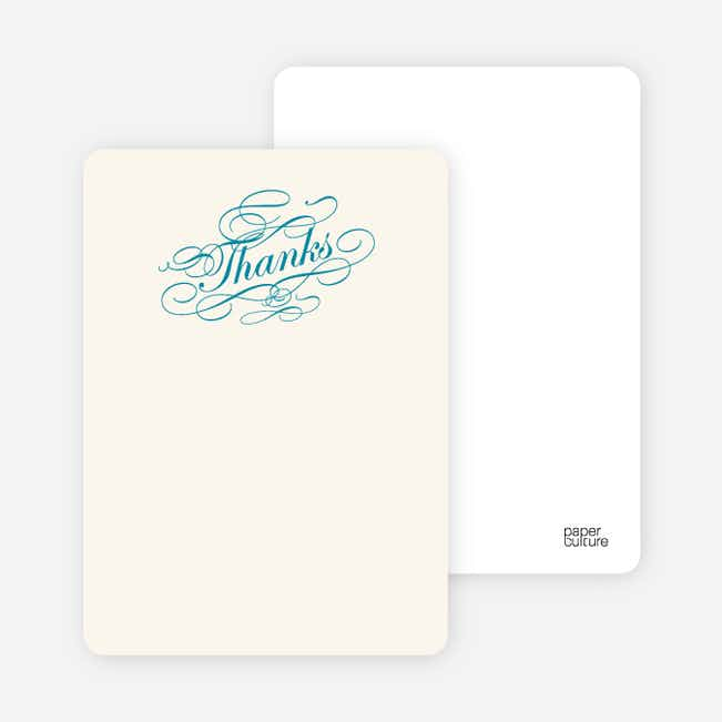 Notecards for the 'Celebrate: Bridal Shower' cards. - Seashell