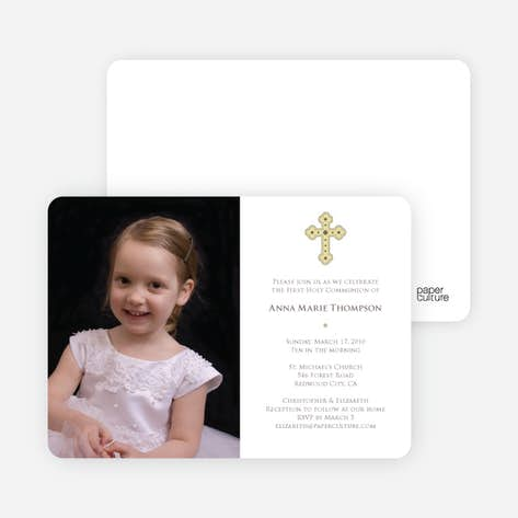 Holy Communion Invitations Paper Culture