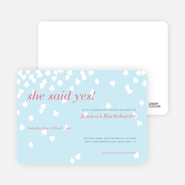 Queen Of Hearts Bridal Shower Invitations Paper Culture