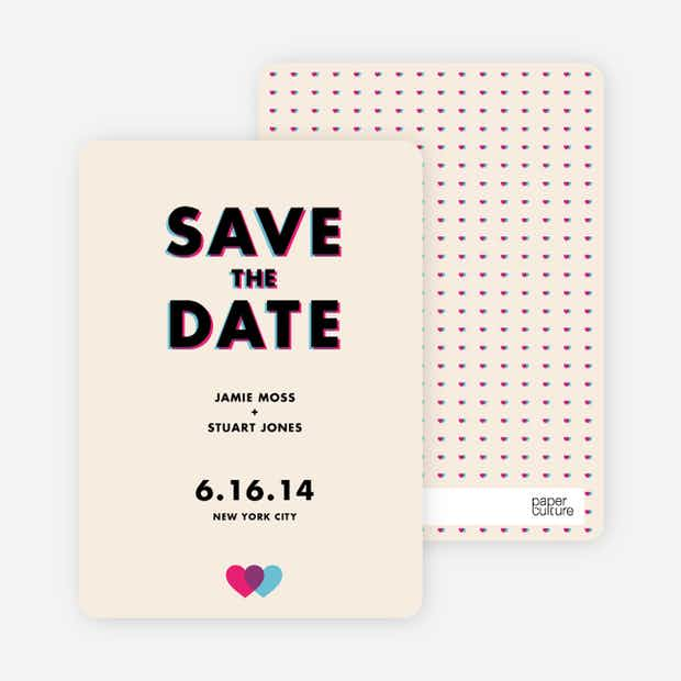 3D Save the Date - Main