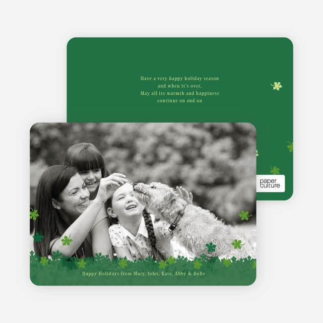 Fall Themed Photo Cards - Pine