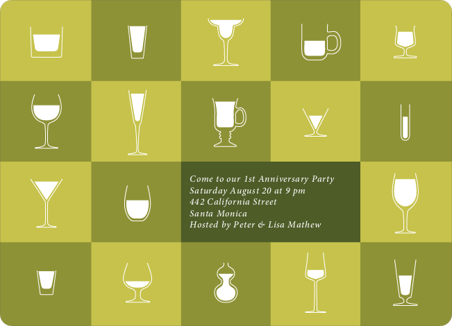 Party Glasses – the Ultimate Party Invitations - Lemongrass