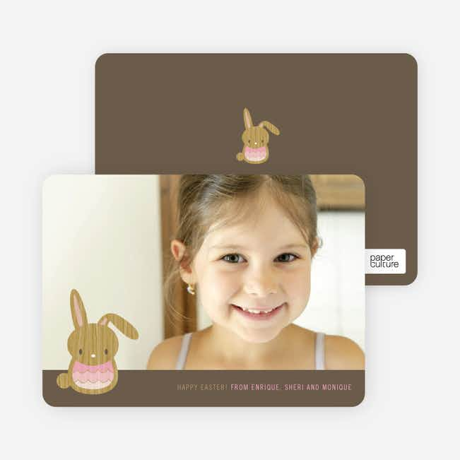 Bunny Wink Easter Photo Cards - Cotton Candy