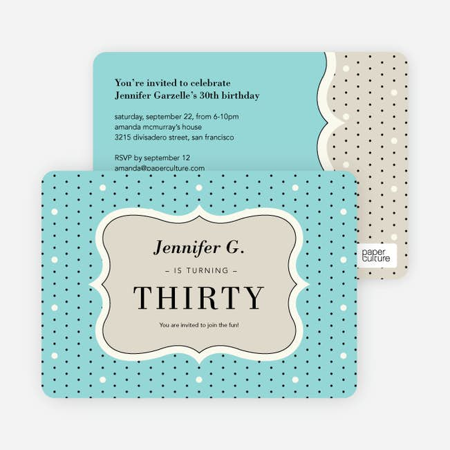 polka dot themed birthday party invitations paper culture