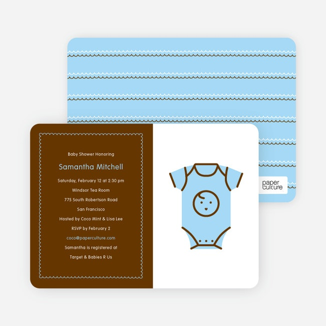 Home / Baby Shower Invitations / Boy Shower Invitations