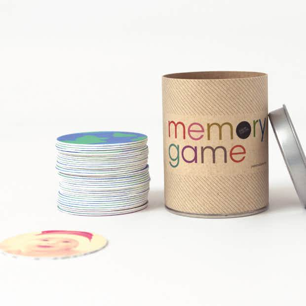 Personalized Memory Game - Main