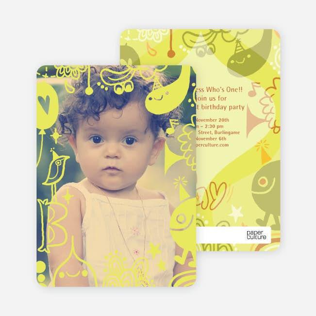 child s imagination birthday party invitation paper culture