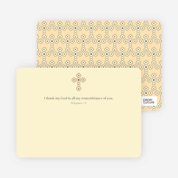 Holy Communion Notecard - Main