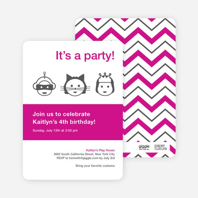 Costume party birthday party invitations paper culture costume party main filmwisefo