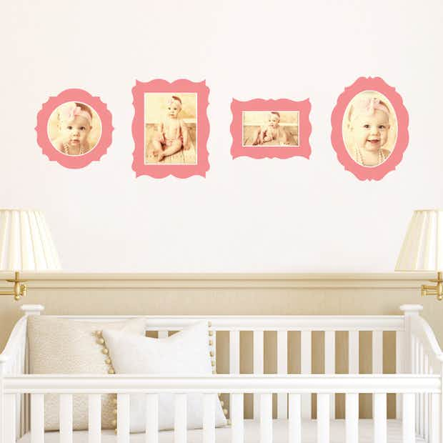 Antique Photo Frame Decals - Wall Decal