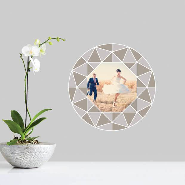 Circle of Diamonds - Wall Decal