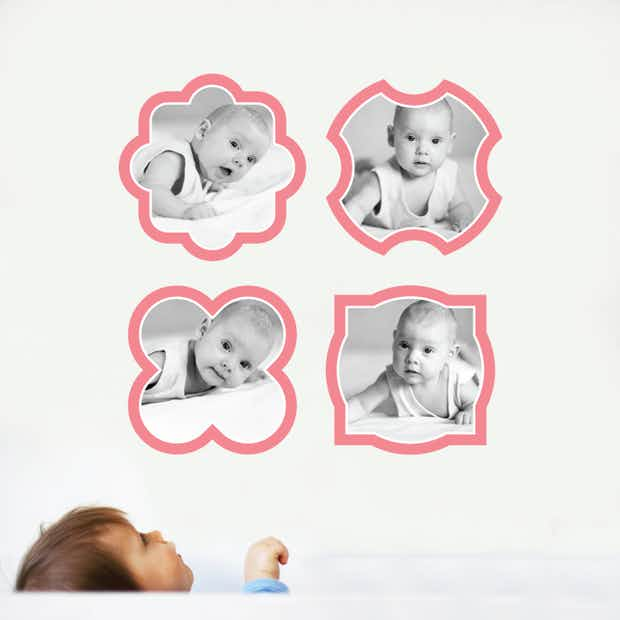 Modern Picture Frames - Wall Decal
