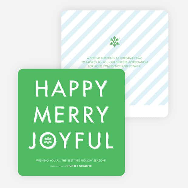 Happy, Merry, Joyful - Main
