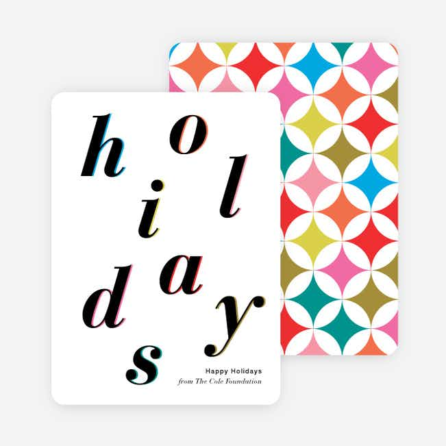 HOLIDAYS Holiday Cards - Multi