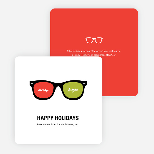 Visions of the future corporate holiday cards paper culture