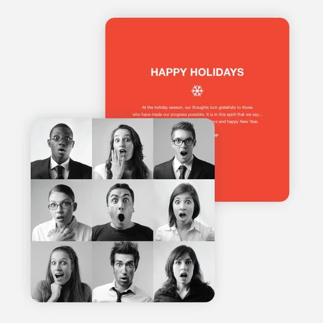 Brady Bunch Christmas Card.Brady Bunch Squares