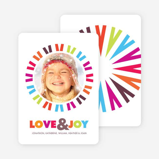 Holidays full of Love and Joy - Multi