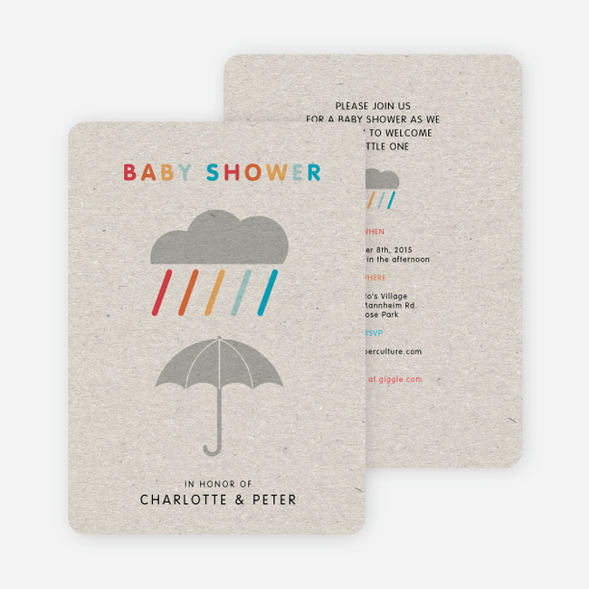 colorful shower baby shower invitations paper culture
