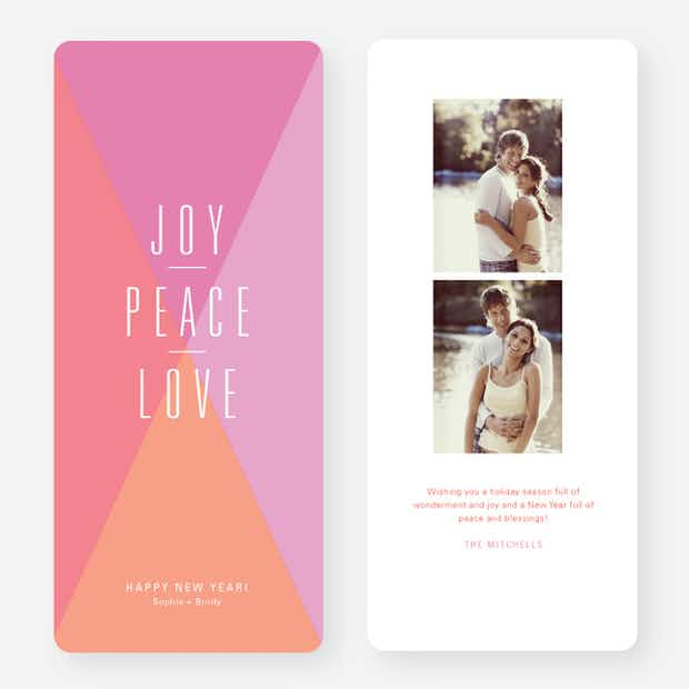 Joy Peace Love Portrait - Main
