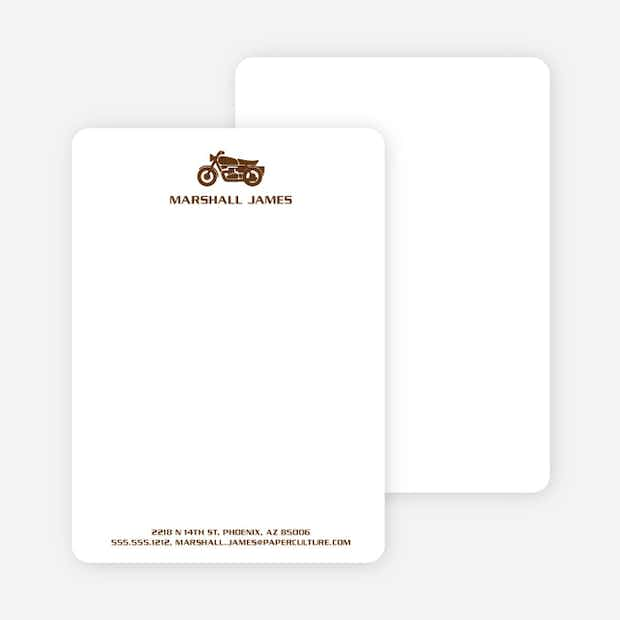 Motorcycle Stationery - Main