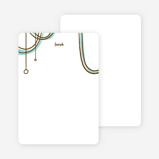 Notecards for the 'Birthday Celebration' cards. - Aquamarine
