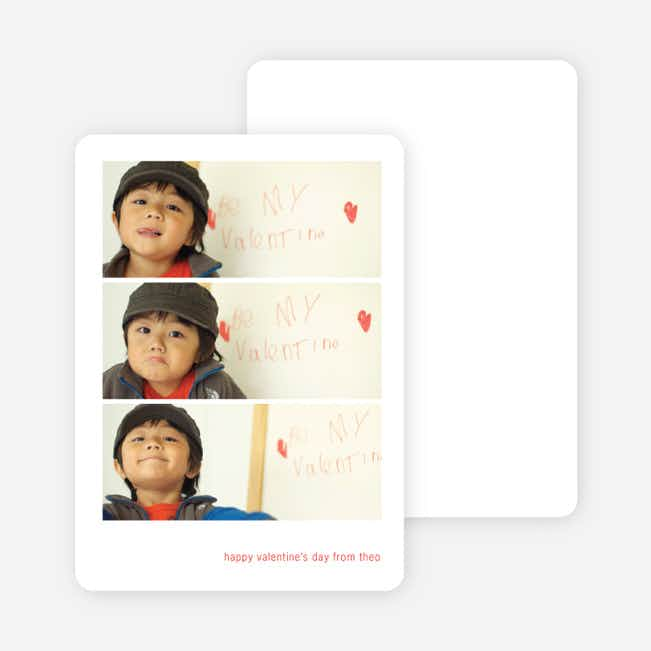 Triple Stack Valentine's Day Cards - Cardinal Red