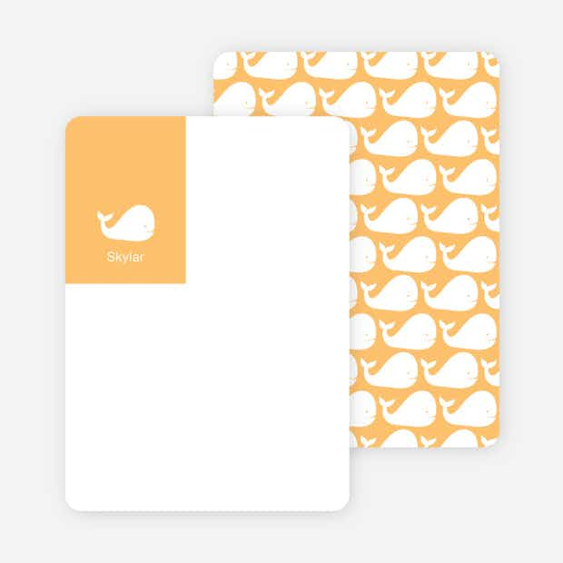 Moby Dick Whale Stationery - Main