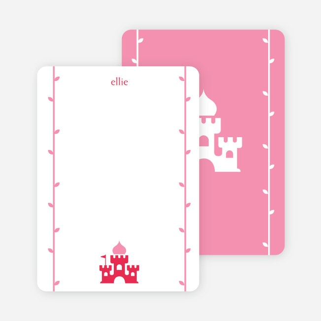 Note Cards Princess Birthday Invitation Cards Paper Culture