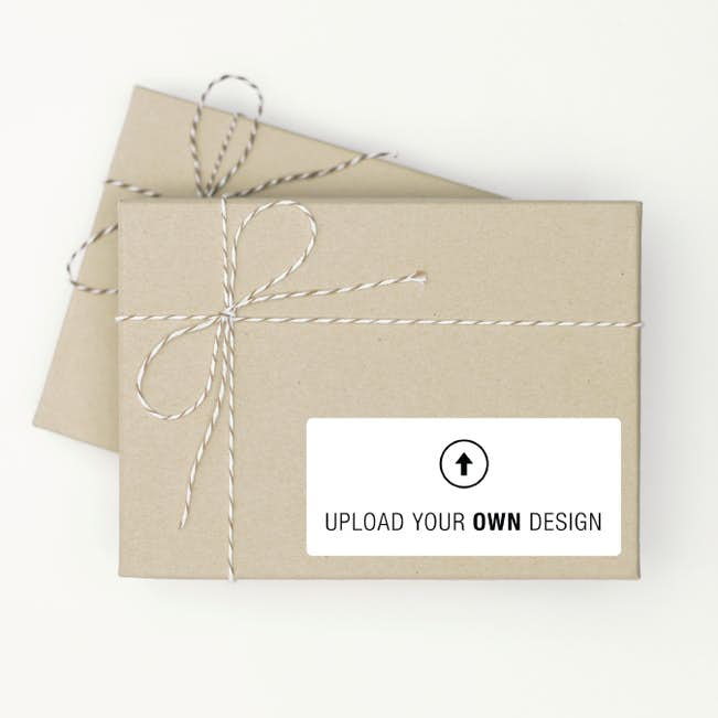 set of 12 custom gift tags vertical paper culture