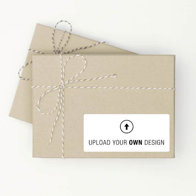 Set of 12 Custom Gift Tags, Vertical - Multi