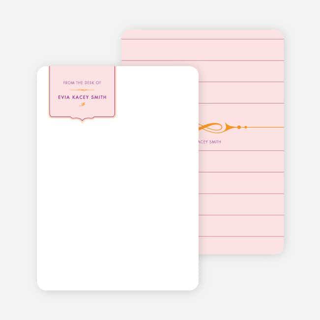 Stationery: 'Chic and Modern' cards. - Pale Blush