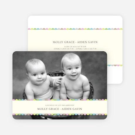 Tiny Prints for Tiny Babies Baby Birth Announcements – Tiny Prints Birth Announcement