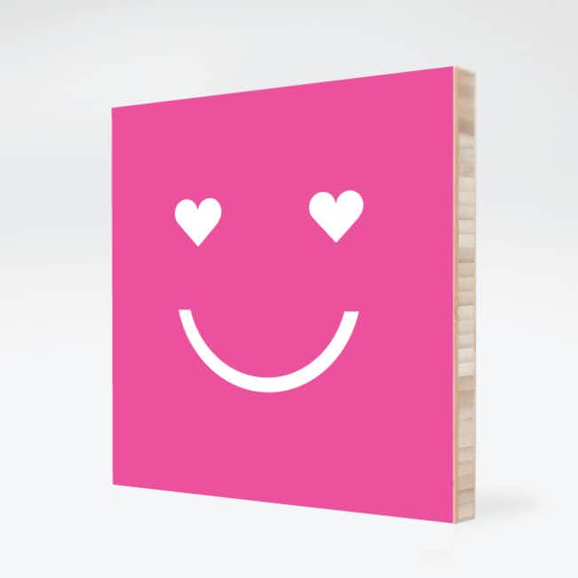 Smiling from the Heart: Bamboo Art - Hot Pink