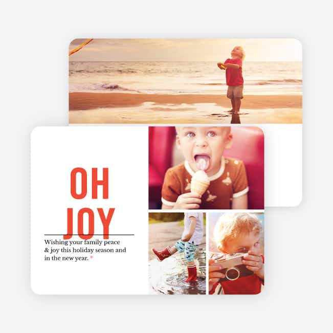 Oh Joy Holiday Card - Red