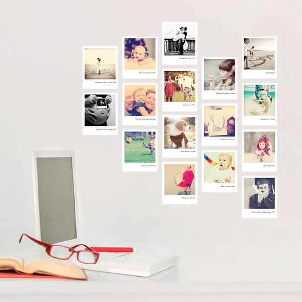Custom Photo Stickers - Wall Decal
