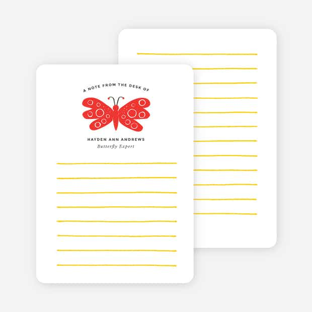 Butterfly Notecards - Main