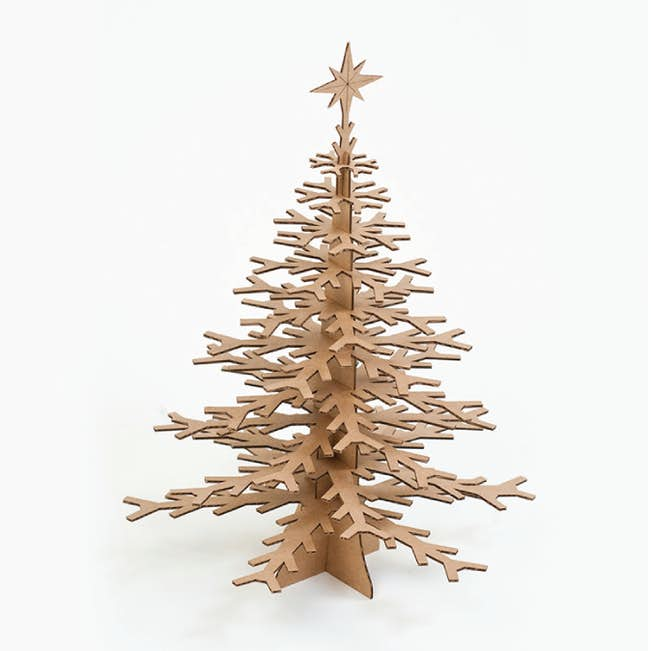 Cardboard Christmas Tree Paper Culture
