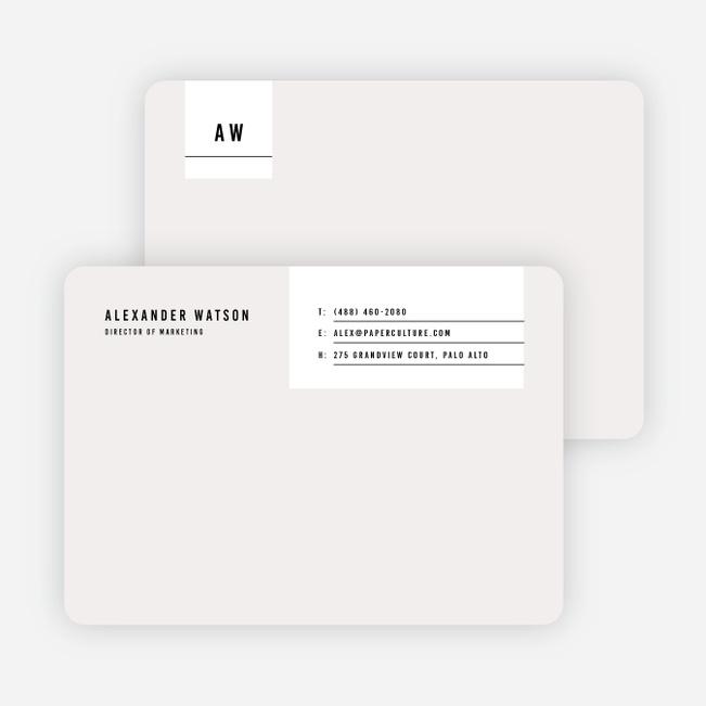 modern postcard notecards  paper culture