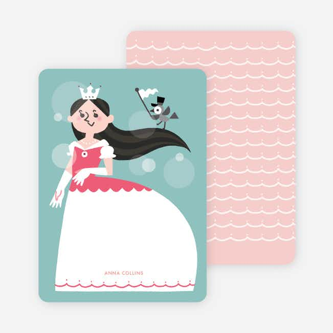 Princess Stationery - Black