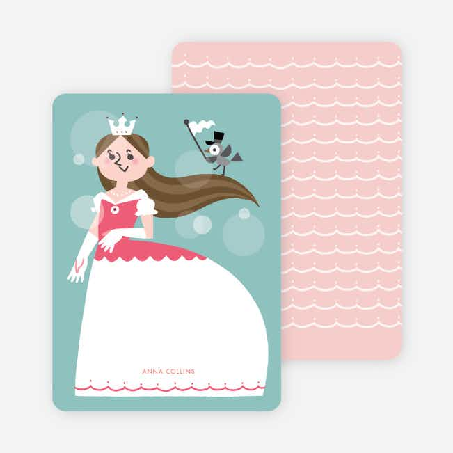 Princess Stationery - Brown