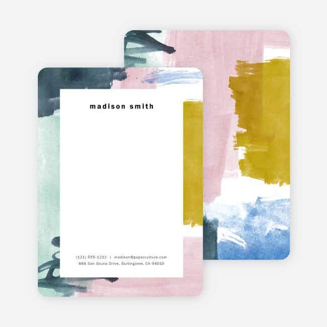 Watercolor Inspiration Stationery - Multi