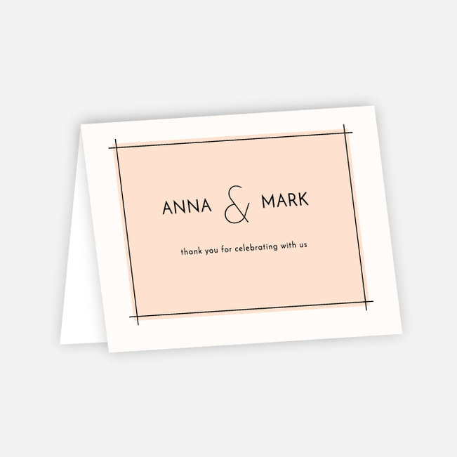 wedding thank you cards paper culture
