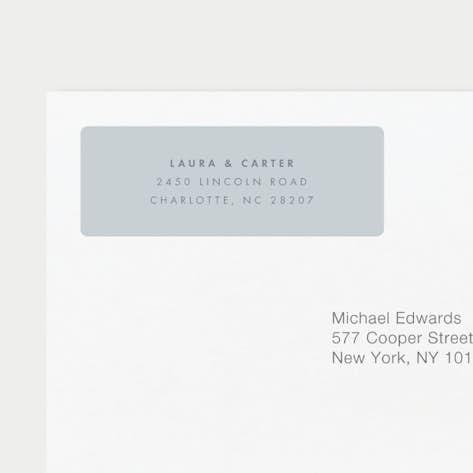 return address labels paper culture