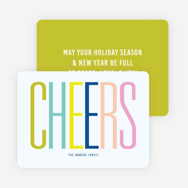 Big Cheers Holiday Cards - Multi
