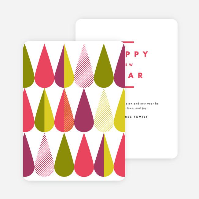 New Years Cards And Invitations Paper Culture
