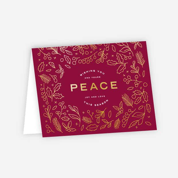 Foil Peace Accents - Main